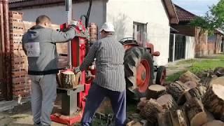 Log splitter , KRPAN CV14, despicator lemne