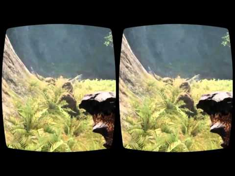 Far Cry Primal in Oculus Rift 3D virtual reality