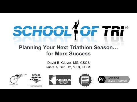 Planning Your Next Triathlon Season for More Success (Webinar Recording)