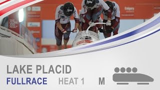 Lake Placid | 4-Man Bobsleigh Heat 1 World Cup Tour 2014/2015 | FIBT Official