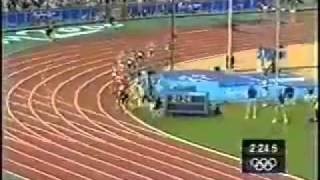 Sydney Olympic 2000   Men's 1500m