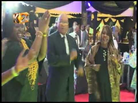 President Jacob Zuma attends a State banquet hosted in his honour