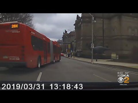 Port Authority Bus Driver Caught Swerving Between Lanes On Uber Driver Dash Cam