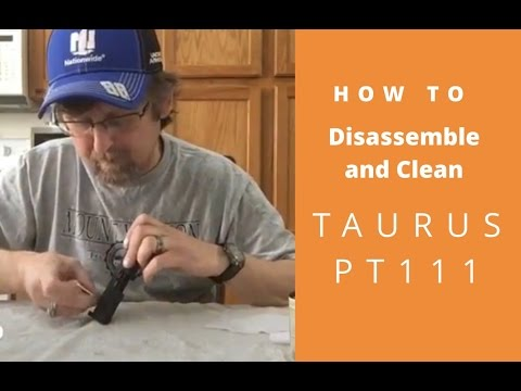 Disassemble and clean the Taurus PT111 G2