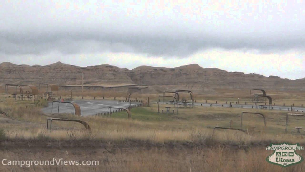CampgroundViews.com   Cedar Pass Campground Badlands National Park (Interior)  South Dakota SD