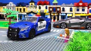 Optimus Prime vs Nemesis Prime - Transformers Ultra Magnus, Hound, Brawl & Lego Journey to the West