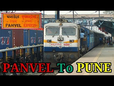 PANVEL To PUNE : Journey Highlights | On-Board 17613 Panvel - Nanded Express (Indian Railways)