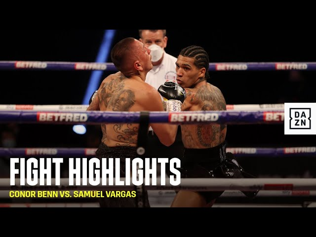 HIGHLIGHTS | Conor Benn vs. Samuel Vargas