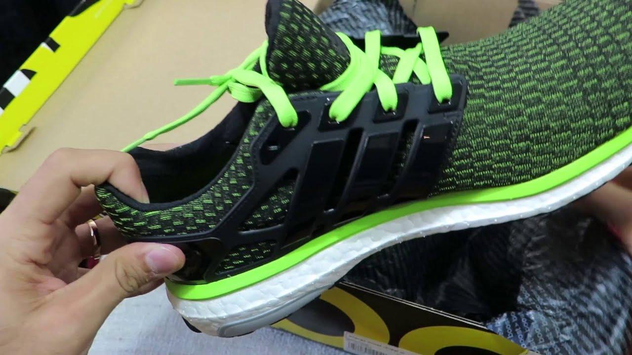 buy popular c0f84 4139d Adidas ENERGY BOOST REVEAL UNBOXING   REVIEW EN ESPAÑOL. RUNNING PARA VAGOS