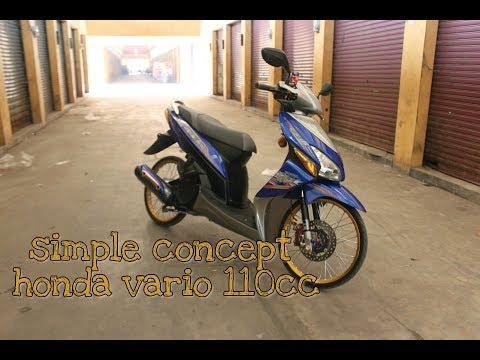 REVIEW Honda Vario 110cc    MODIFIKASI ALA ALA THAILOOK    RING 17