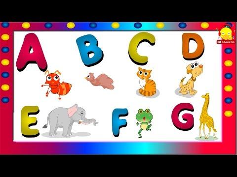 เพลง ABC อนุบาล ♫ เพลงเอบีซีและคำศัพท์ภาษาอังกฤษ Alphabet song | เพลงเด็ก indysong kids