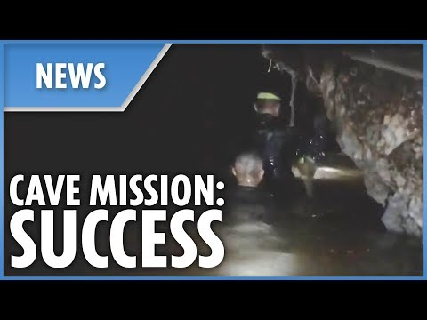 12 Boys Successfully Saved From Thailand Cave