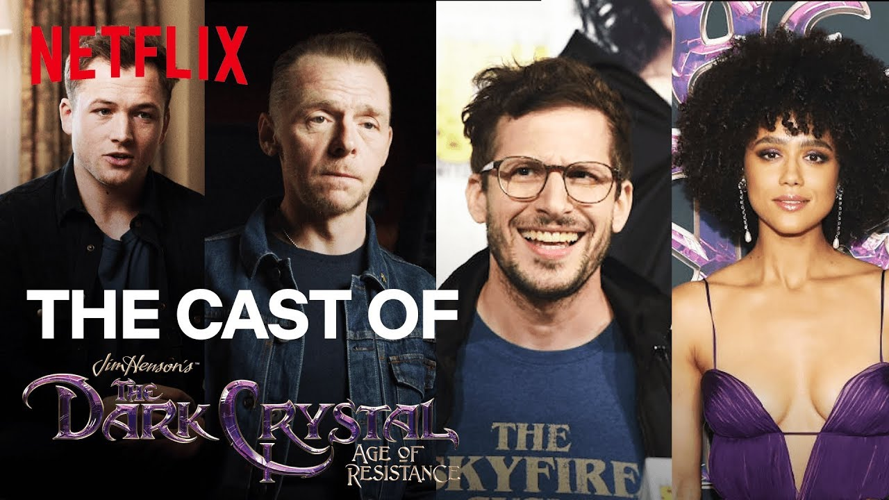 Meet The Voices Of The Dark Crystal Age Of Resistance Netflix