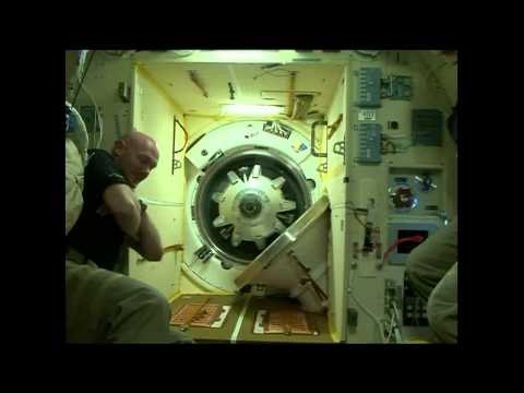 Expedition 41/42 Crew Enters the International Space Station for the First Time