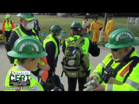 Rowlett Community Emergency Response Team CERT
