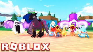 POKEMON FIGHTERS EX IS BACK AS MONSTERS OF ETHERIA!! | Roblox