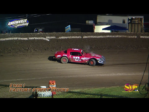 Factory Stocks B-Mains | Greenville Speedway | 11th Gumbo Nationals | Oct 6th & 7th, 2017