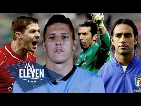 Stevan Jovetic Picks His Best XI | Gerrard, Buffon, Nesta & More!