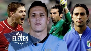 Manchester City: Stevan Jovetic Picks His Best XI | Gerrard, Buffon, Nesta & More!