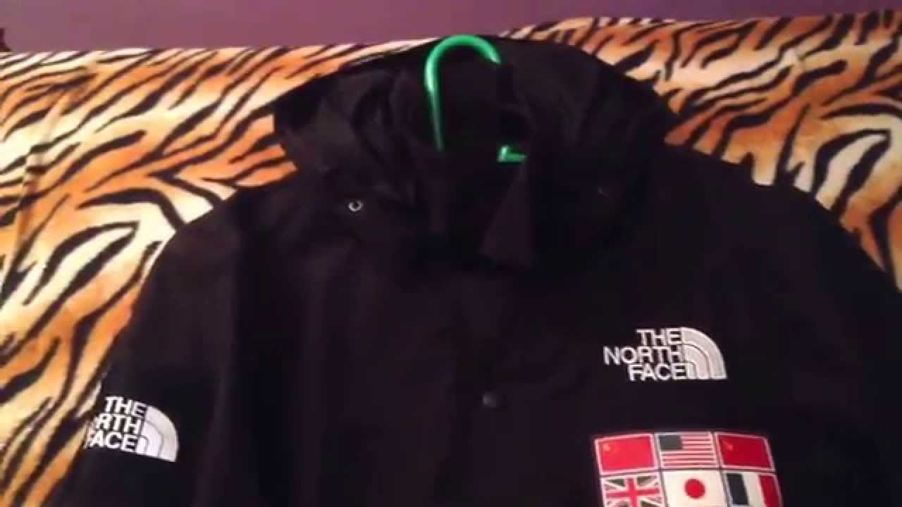 Tnf x supreme 2014 expedition jacket black youtube gumiabroncs Image collections