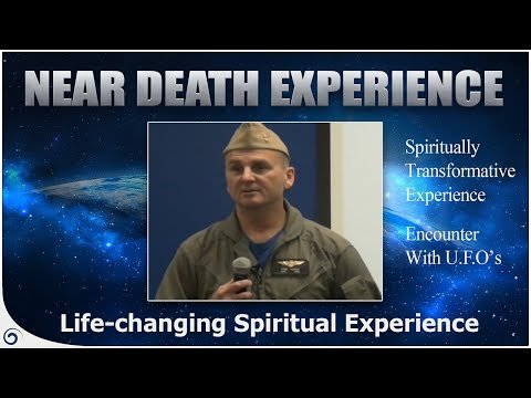 A Flight Engineer's Incredible Spiritual Experience -  Tony Woodey