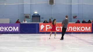 Софья Тютюнина и Александр Шустицкий ПТ КП 2021