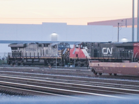 1-31-17! Railfanning Fullerton, Commerce & Montebello staitons! Featuring NS & CN