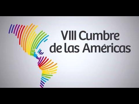 VIII Cumbre de las Américas (14-04-18): Mandatarios se reúnen para la tradicional foto.
