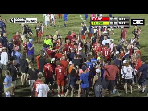 FC Wichita 7.15.17 v. Tulsa - Conference Finals