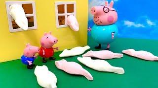Świnka Peppa i gumisiowe Myszki  Bajka dla dzieci po Polsku