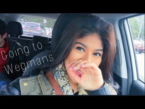 Vlog #1 | First time at Wegmans
