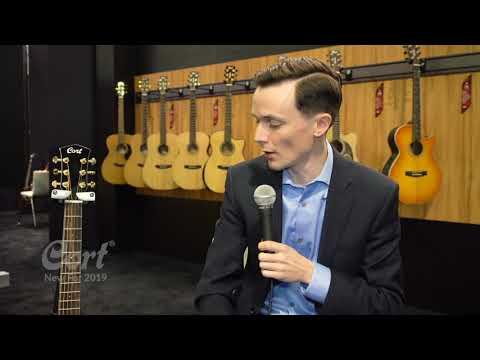 Cort Acoustic Guitar -  Gold Mini