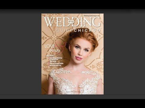 Wedding Guide Chicago Magazine Cover BTS