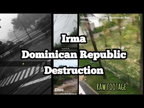 Irma Destroys Dominican Republic