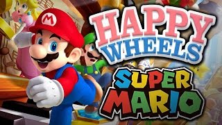 HAPPY WHEELS : MARIO KART