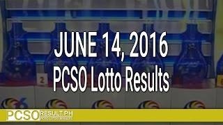 PCSO Lotto Results June 14, 2016 (6/49, 6/42, 6D, Swertres & EZ2)