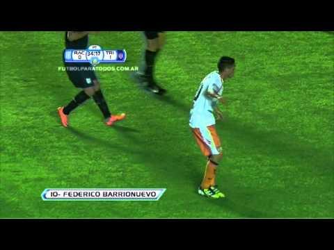 Gol de Barrionuevo. Racing 0 - Tristán Suárez 1. 16avos. de Final. Copa Argentina 2012/13. FPT