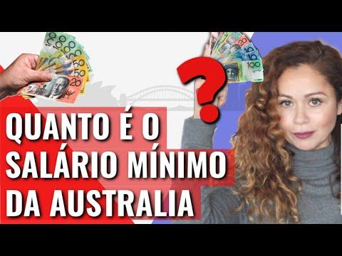 O Salário Mínimo Da Austrália