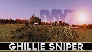Lone Ghillie Sniper! DayZ Standalone Gameplay