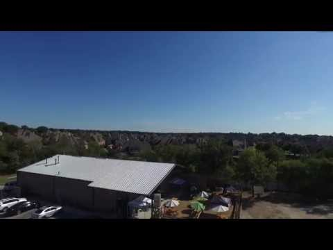 Drone Footage of Shannon's Brewery BEFORE Covered Patio Install   Keller, TX 3