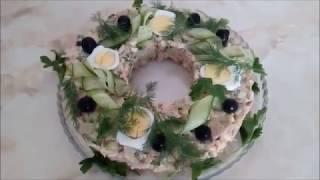 """Праздничный салат из птицы (""""Столичный"""") по ГОСТу"""
