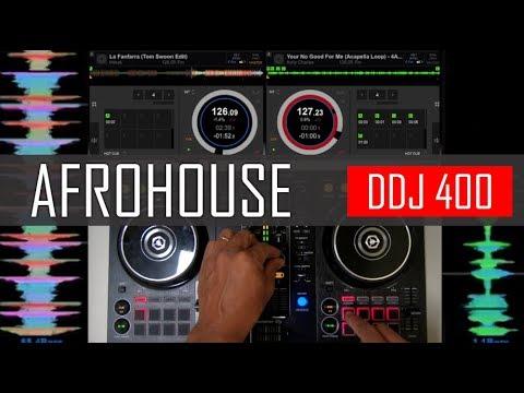 Afrohouse Mix na Controladora Pioneer DJ  DDJ 400