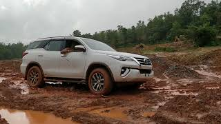 Mud Terrain 4x4 Toyota fortuner at GouSwarga