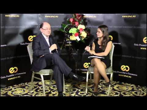 Interviu cu Catalin Cretu (Country Manager VISA Europe Romania) luat la GPeC 2013 de Sabina Cornovac