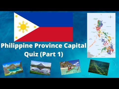 GUESS THE PHILIPPINE PROVINCES CAPITAL CHALLENGE (PART 1)