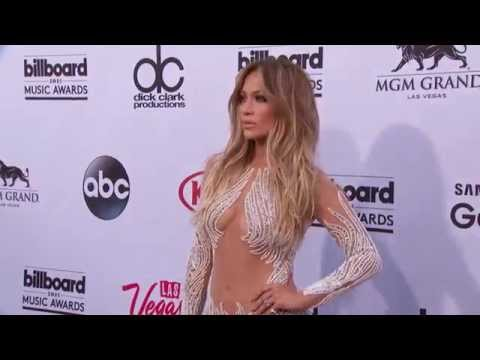 Jennifer Lopez Red Carpet Fashion - BBMA 2015