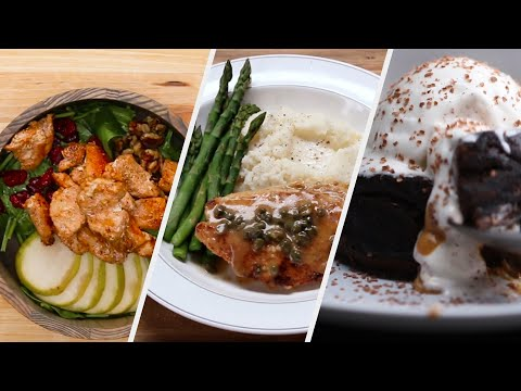 Romantic Three-Course Dinner You Can Make In 30 Minutes • Tasty
