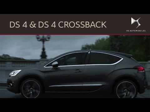 new ds 4 and ds 4 crossback youtube. Black Bedroom Furniture Sets. Home Design Ideas