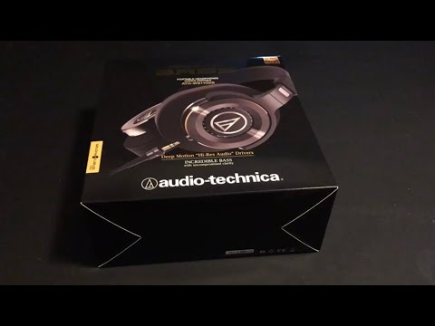 Audio-Technica ATH-WS1100iS Solid Bass - [NEW] - AMBIENT UNBOXING