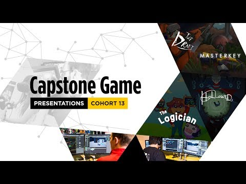 Capstone Game Presentations - Cohort 13